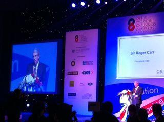 Sir Roger Carr, BBA 2012