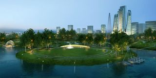 Atkins, Donghu central leisure area