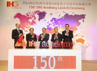 IHG, IHG celebrates launch of 150th IHG Academy, January 2013