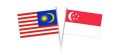 Sing-Malay Flags