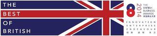 British Business Awards 2014 logo
