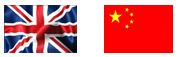 UK-China flags