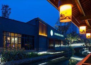 Starbucks store in Chengdu, August 2014