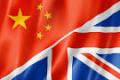 UK-China Flags