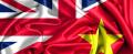 UK-Viet flags