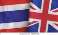 UK-Thai flags