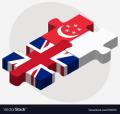 UK-Singapore Logos