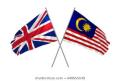 UK-Malaysia flags
